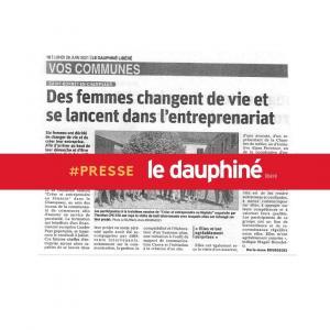Entreprendre au féminin Saint-Bonnet Le Dauphiné Libéré 2021